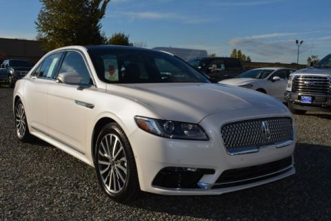 New 2017 Lincoln Continental Select FWD 4D Sedan
