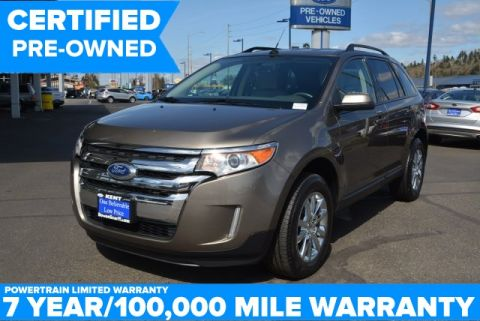 Certified Used Ford Edge SEL