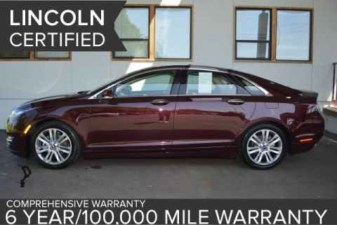Certified Used Lincoln MKZ Hybrid