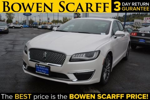 New 2017 Lincoln MKZ Select FWD 4D Sedan
