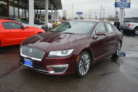 New 2017 Lincoln MKZ Hybrid FWD 4D Sedan